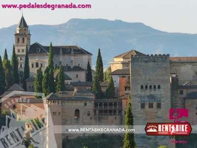 Alhambra 02 - bicycle rental rent a bike Granada