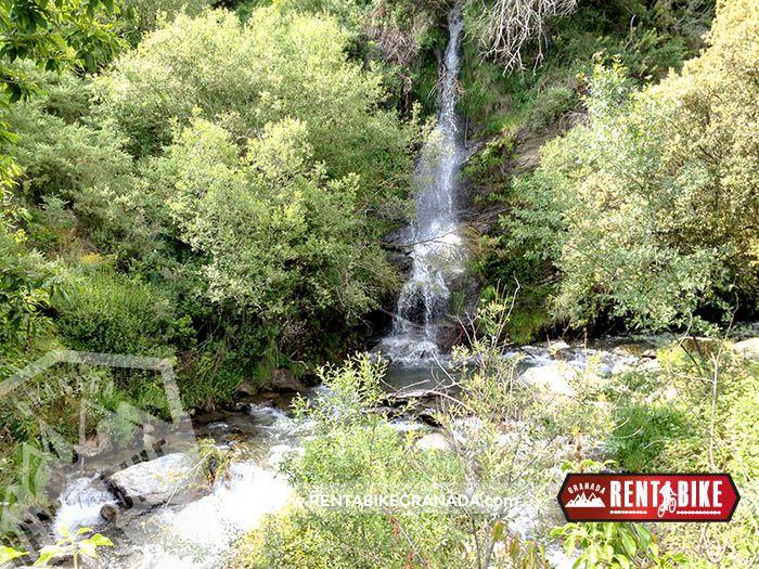 waterfalls - bicycle rental rent a bike Granada