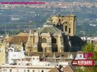 Catedral de Granada - bicicleta de alquiler rent a bike granada