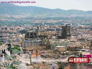 Catedral de Granada- bicicleta de alquiler rent a bike granada