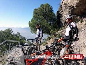 En PiedraVentana - bicicleta de alquiler rent a bike granada