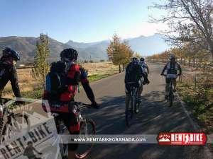 Ermita Nueva - bicicleta de alquiler rent a bike granada