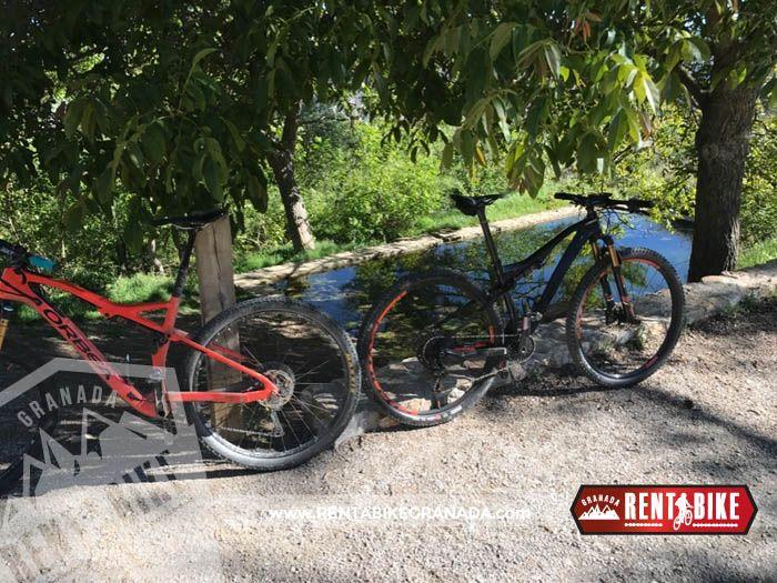 Ermita Vieja - bicycle rental rent a bike Granada