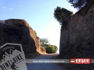 Paso Silla del Moro - bicicleta de alquiler rent a bike granada