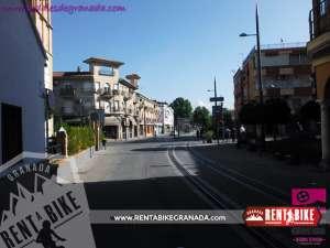 Ruta del Legioinario 01 - bicicleta de alquiler rent a bike granada