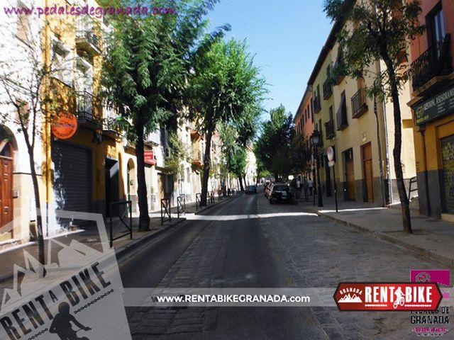 Ruta del Legioinario 05 - bicicleta de alquiler rent a bike granada
