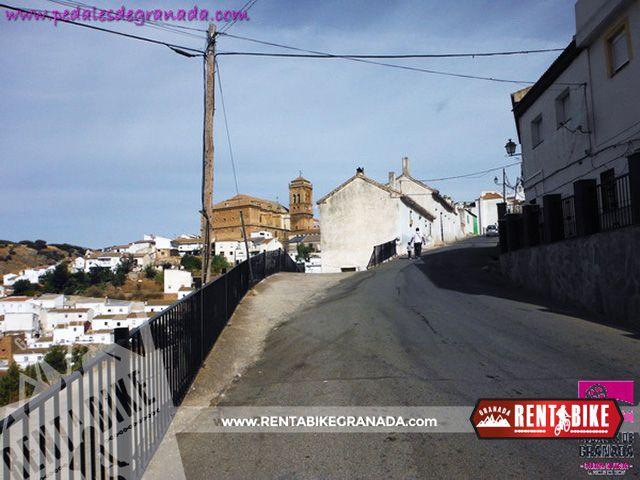 Route Mendrugo 09 - bicycle rental rent a bike Granada