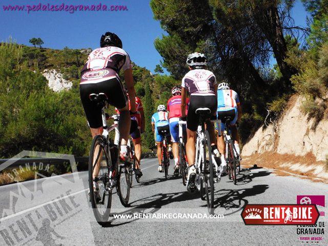 Route Mendrugo 10 - bicycle rental rent a bike Granada