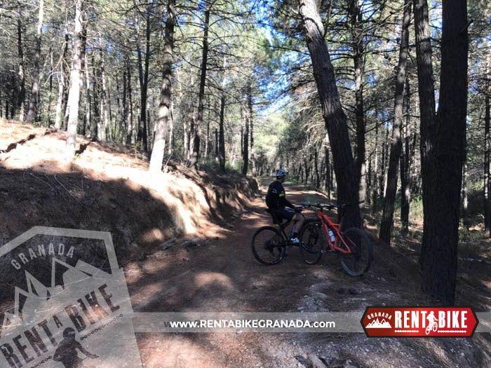 Vereda of skulls - bicycle rental rent a bike Granada