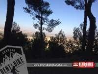 Views of Granada - bicycle rental rent a bike Granada