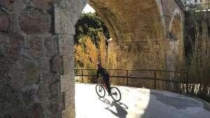 puente romano rio saleres rentabike granada